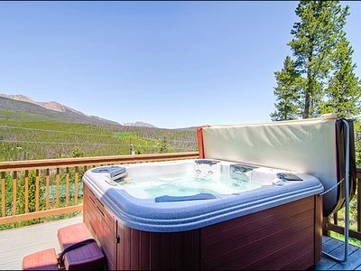 Breckenridge house rental - Amazing Views from the Hot Tub
