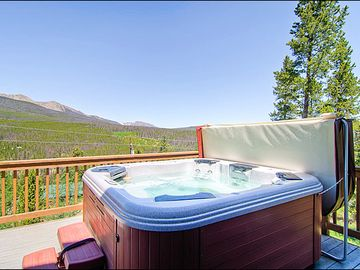 Amazing Views from the Hot Tub