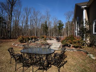 Tannersville house photo - Stunning Backyard with Patio Furniture