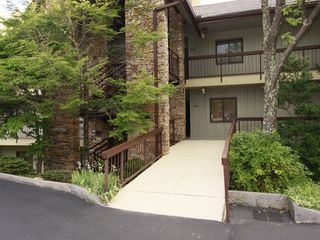 Gatlinburg condo photo - EASY Wheelchair Access - straight to Condo door