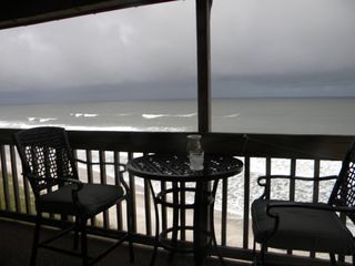 North Topsail Beach condo photo - Dining Area on Balcony