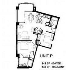 Horizon condo photo - Floor Plan
