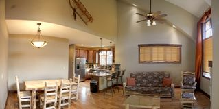 Silverthorne townhome photo - View of the living room and kitchen.