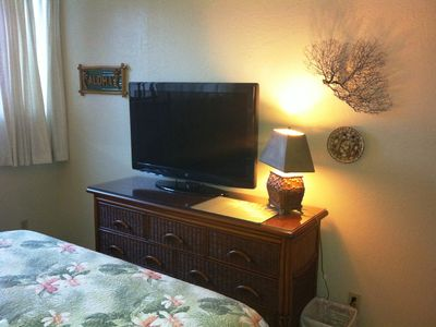 TV in Master bedroom.