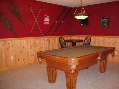 Lake Nantahala house rental - Billiard Room
