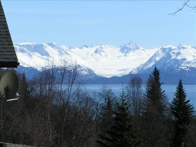 View of Glacier from House