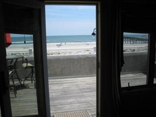 Boardwalk condo photo - .Huge private deck off family room over looking beach and boardwalk.