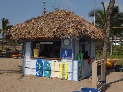 Beach Hut across the street @ A-Bay- rentals - paddle boards