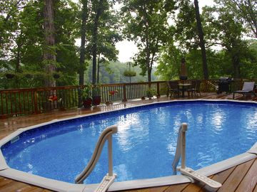 Tuscaloosa house rental - This 4 foot pool will provide hours of fun before and after the game!