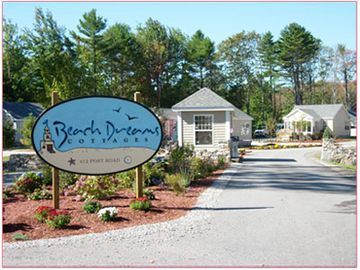 Entrance to the gated Beach Dreams community