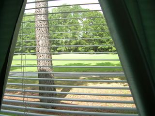 River Oaks condo photo - The View of the Golf Course out the Rear Window