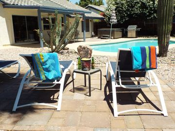 Chandler house rental - Unwind and soak up the sun.