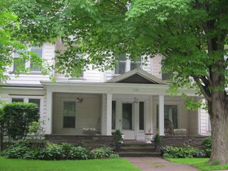 Roxbury house photo - Go back in time with our Charming Village Victorian!