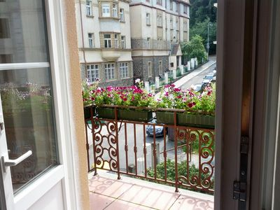 Beautiful flat, Colonial-style villa in central location, completely new, balcony, wi-fi, parking