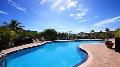Oceanfront Pool-Kawama Yacht Club-Florida Keys Vacation-