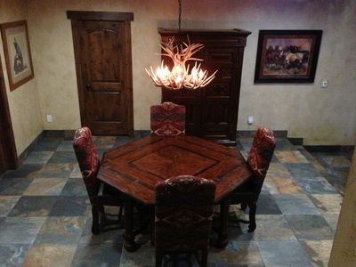 NEW Gaming Table that can be used as Dinning area for up to 8