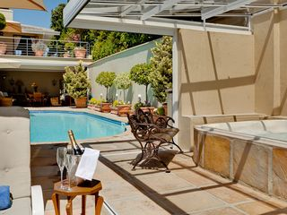 Constantia villa photo - Honeymooner's Delight at Heated Pool and Enclosed Jacuzzi
