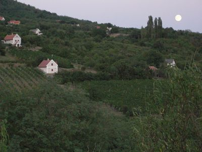 Harvest moon over Szentbekkalla
