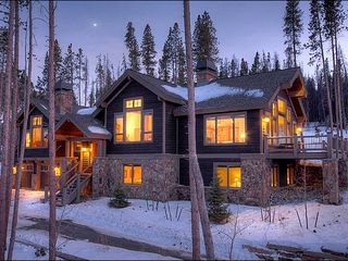 Baldy Mountain Breckenridge house photo - Custom Home Located In Exclusive Neighborhood