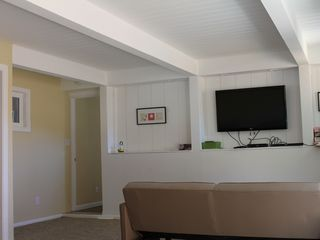 Rancho Palos Verde house photo - This extra large room also has a futon, 42 inch flat screen and bluray dvd.