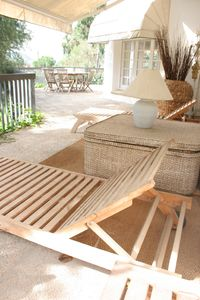 Sitges Town villa rental - The terrace