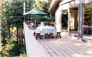 Winter Park house photo - Amazing 40 foot deck with streams below