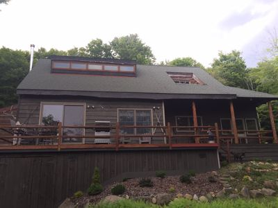 Private Adirondack Cabin Great For Families Near Town & Beach Located on Trail 4