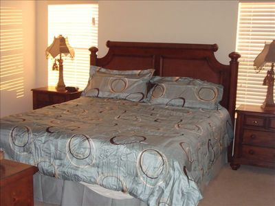 Encantada Resort townhome rental - Master BR with King Bed