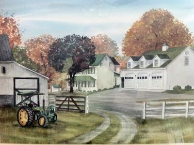 An Artist's Rendering - painted in the 80s