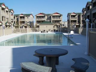 Wildwood townhome photo - Large communal pool for relaxing with family