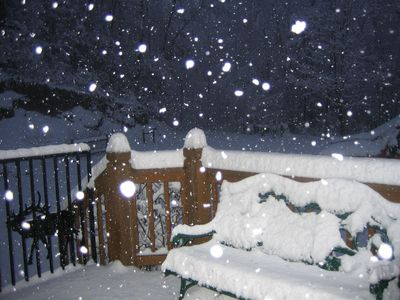 Bryson City cabin rental - My favorite Winter photo