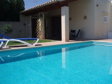 Pool and back terrace