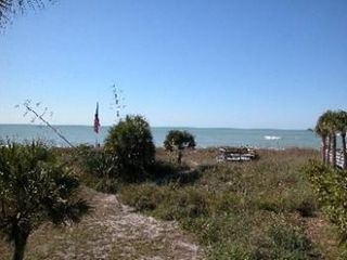 Manasota Key house photo - Back Yard View