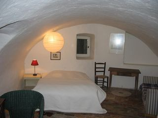 Montfort castle photo - Ground floor bedroom in Guest wing with adjoining bedroom and access to pool
