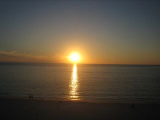 Seawinds condo photo - Balcony view - Amazing Marco sunset
