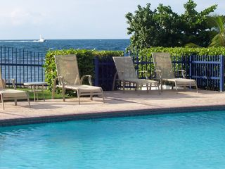Cabo Rojo apartment photo - Some of pool lounge chairs.