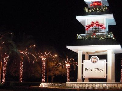 PGA Village at Xmas Time