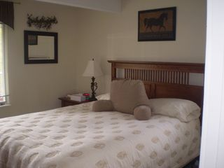 Waterville Valley condo photo - Bedroom with queen