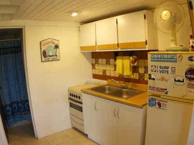 downstairs kitchenette
