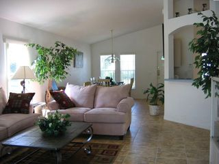 Lounge and Dining Room Area - newly refurnished April 2007