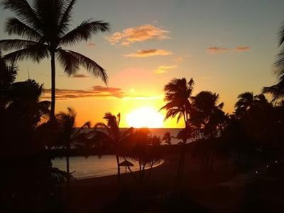 Enjoy the best views of Ko Olina's world famous sunsets from the lanai of B-208.