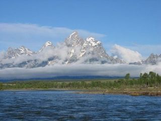 Jackson Hole house photo - The Tetons from The Snake River Float Trip