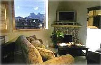 Plasma TV and mountain views!