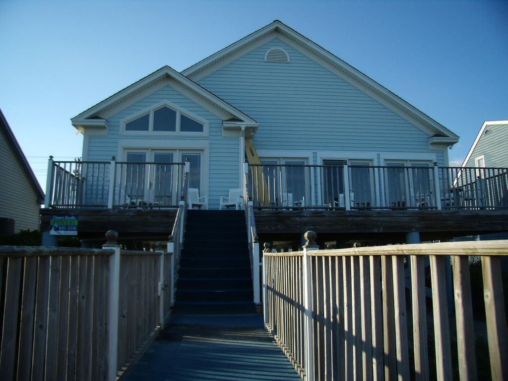 Beautiful Beachfront Home In Garden City Vrbo