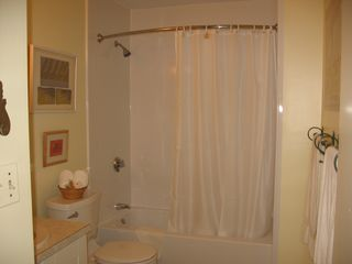 Boston condo photo - Bathroom with shower/bathtub and vanity
