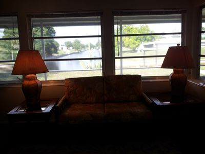 Englewood house rental - View from Florida room