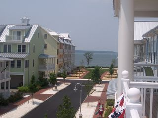 Sunset Island Ocean City townhome photo - Bay View from 1 of 4 Porches