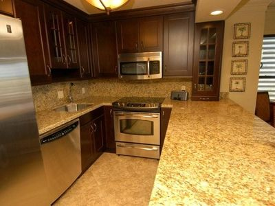 Complete upgrated, stainless, granite, designer kitchen