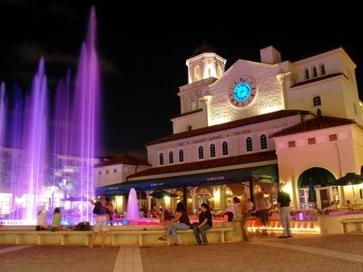CityPlace main fountain