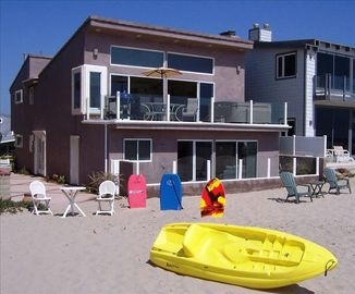 Oxnard house rental - Over a mile long, white, soft sand....feel it between your toes!